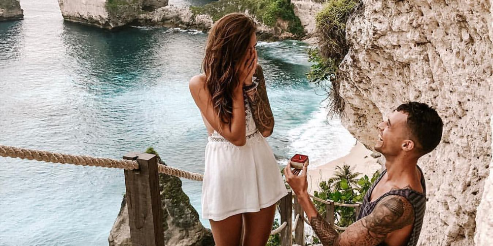 Best Place to Propose your Lover in Nusa Penida
